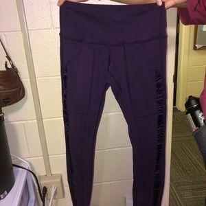 lululemon athletica Pants & Jumpsuits - Size 4 Purple lulu lemon leggings